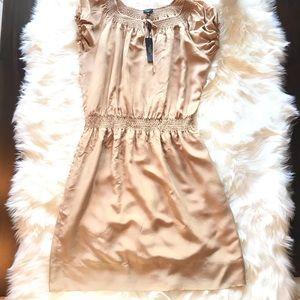 Talbots 2x 100% silk Boho style dress